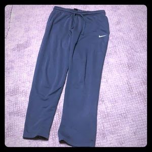Mike men's large anthracite sweat pants like new